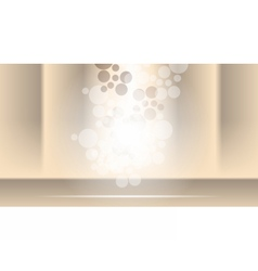 Digital abstract empty brown background vector image vector image