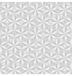 Geometrical pattern in white colors vector image