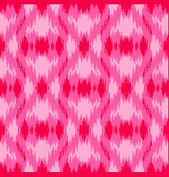 Pink ethnic seamless pattern vector