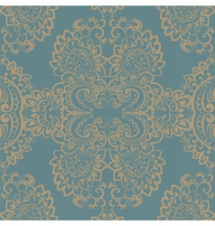 vintage ornament pattern vector image