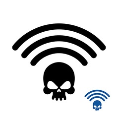 Wifi death wireless transmission of death remote vector