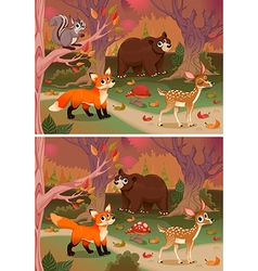 Difference Wood vector image vector image
