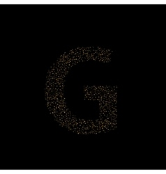 Magic g letter vector