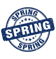 Spring stamp vector
