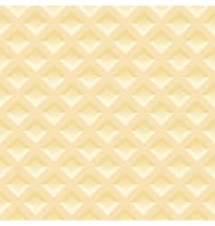 Seamless pattern of belgian wafers gentle light vector