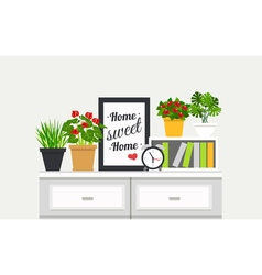 1607i003019Sm003c15interior houseplant vector image
