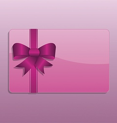 Valentines day giftcard vector
