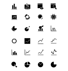 Data analytics icons 1 vector