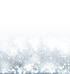 Shimmering winter background vector