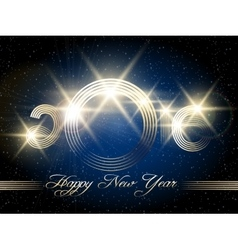 Happy new year festive design vector