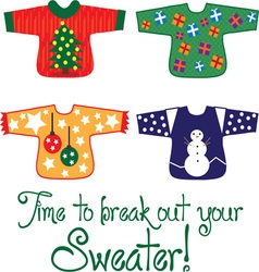 Your sweater vector