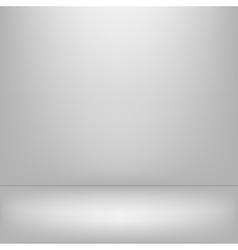 Empy gray interior vector image vector image