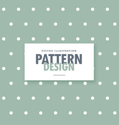 Minimal gray polka dots background vector