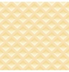 Seamless pattern of Belgian wafers Gentle light vector image vector image