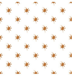 Small spot of caramel pattern vector
