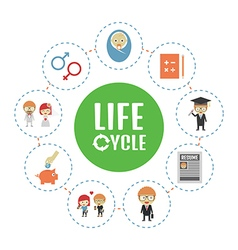 104life cycle vector