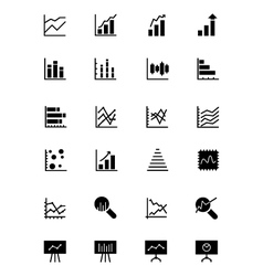 Data analytics icons 2 vector