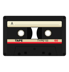 Single 80 isolated tape vector