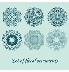 Set of decorative ornaments vector