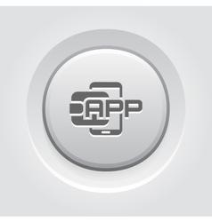 Flat Digital Wallet APP concept vector image