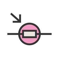 Light dependent resistor vector