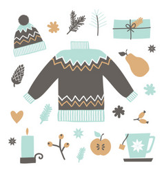 Christmas design elements collection vector
