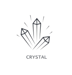Crystal symbol vector