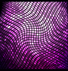 abstract violet mosaic background vector image vector image