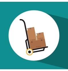 Delivery logistics design vector
