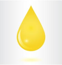 Droop oil vector image