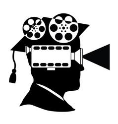 University of film makers vector