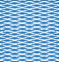 Geometric ocean blue wave pattern vector