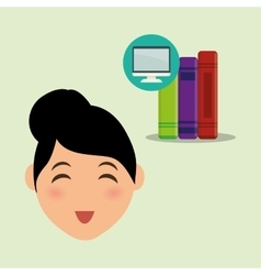 Education design university icon colorfull and vector