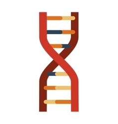 Dna icon science and biology design vector