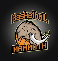 Basketball tournament professional logo vector