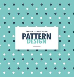 Blue polka dots background vector