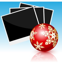 card Christmas vector image vector image