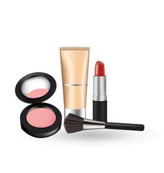 Cosmetic set vector