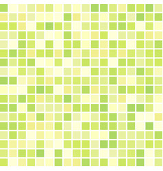 Green geometric background consisting of squares vector