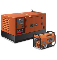 Power generators vector