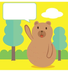 Bear talk vector