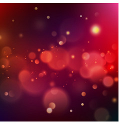 Colorful glowing bokeh background template eps 10 vector