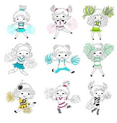 Girls vector
