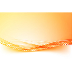 Orange and red gradient border abstract background vector