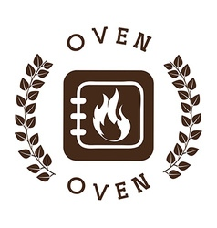 Bakery shop seal vector