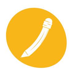 pencil utensil write icon image vector image vector image