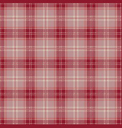 Red tablecloth tartan plaid seamless pattern vector