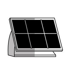 solar panel design vector image vector image