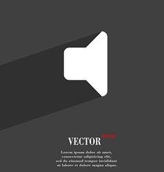 Speaker volume Sound icon symbol Flat modern web vector image