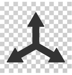 Triple arrows icon vector
